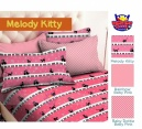 SPREI STAR MELODY KITTY - GROSIR SPREI STAR - SPREI BINTANG KECIL