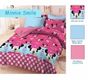 Sprei star minnie smile - grosir Sprei star - sprei star murah