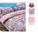 Sprei star purry cat - grosir Sprei star - distributor sprei star