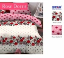 Sprei star Rose Dottie - grosir Sprei star murah - distributor sprei star