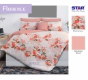 Sprei star florence orange - grosir Sprei star - distributor sprei star