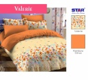 Sprei star valerie orange - grosir sprei star - distributor sprei star